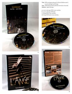DVD packaging design