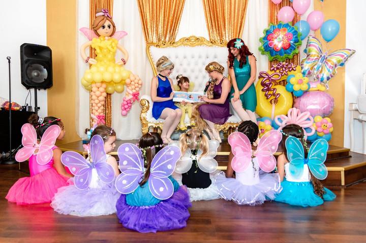 Princess Ballerina Birthday Party