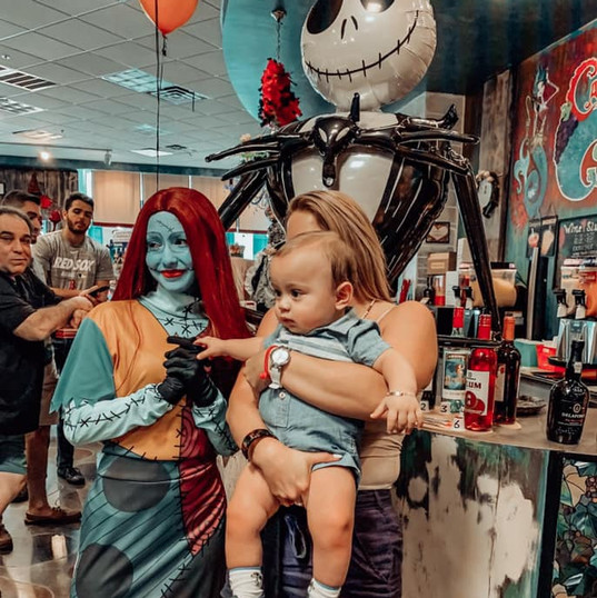 Orlando Party Characters - The Nightmare Before Christmas Party