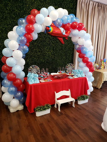 Airplane 1st Birthday Party