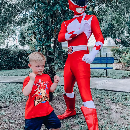 Orlando Superhero Parties - Power Ranger Party