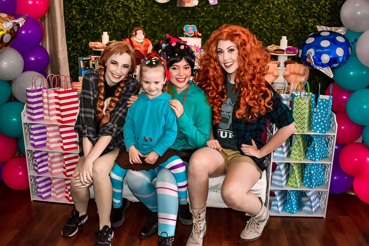 Wreck it Ralph Breaks the Internet Birthday Party with Vanellope and Princesses