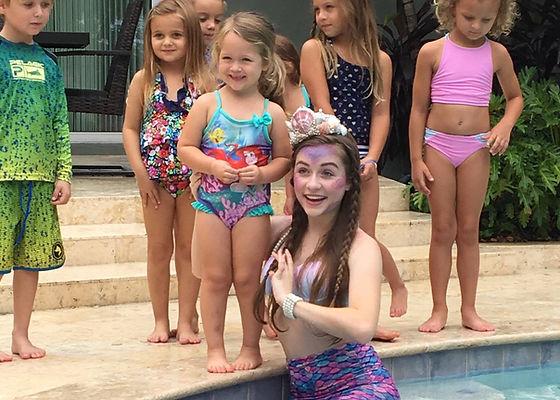 Orland mermaid parties