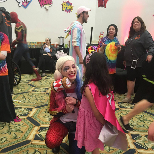 Orlando Superhero Parties - Harley Quinn Party