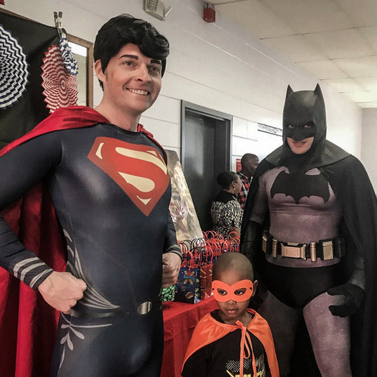 Orlando Superhero Parties - Superman and Batman Party