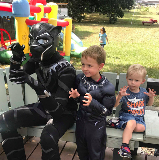 Orlando Superhero Parties - Black Panther Party