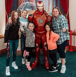 Orlando Superhero Parties - Ironman Party