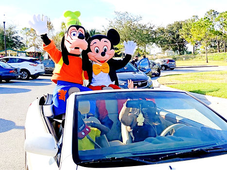 disney character rental near me, mickey mouse and minnie mouse character rental in Orlando, character party rental, hire disney characters for parties near me