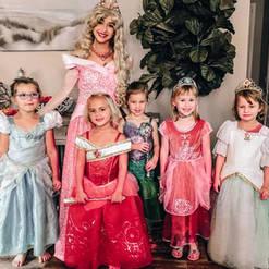 Orlando Princess Parties - Sleeping Beauty Party