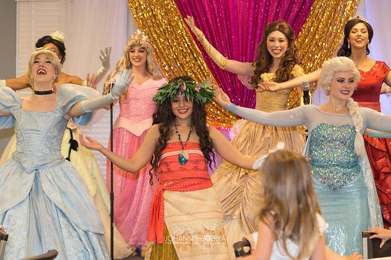 Tutu Tales Party Productions Events, Royal Tea Party