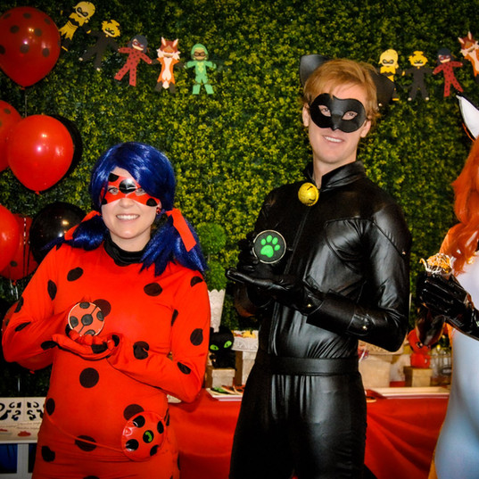 Orlando Superhero Parties - Miraculous Ladybug Party