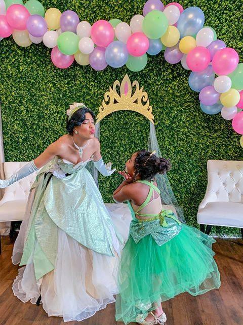 Princess Tiana Princess and the Frog Birthday Party