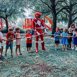Orlando Superhero Parties - Power Ranger Party