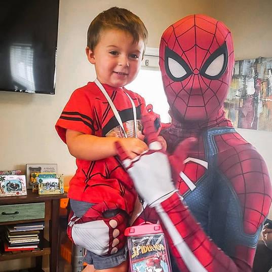 Orlando Superhero Parties - Spiderman Party