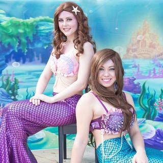 On-land Mermaids