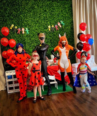 Miraculous Ladybug Birthday Party