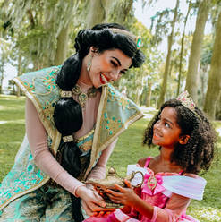 Orlando Princess Parties - Princess Jasmine Party