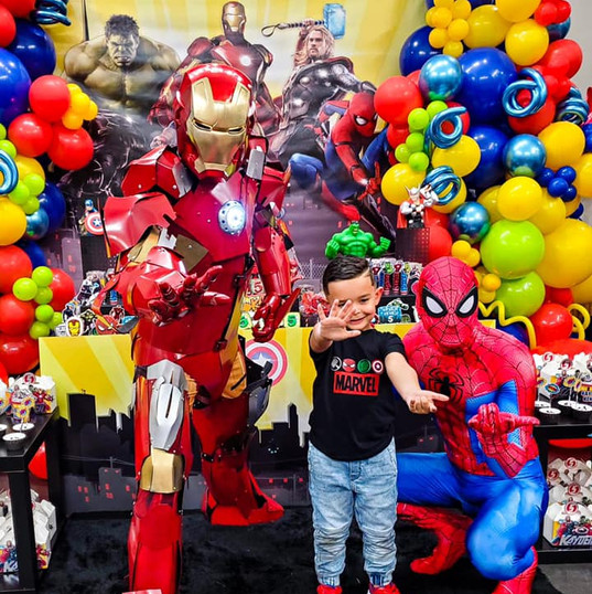 Orlando Superhero Parties - Ironman Party
