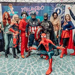 Orlando Superhero Parties - All Heroes