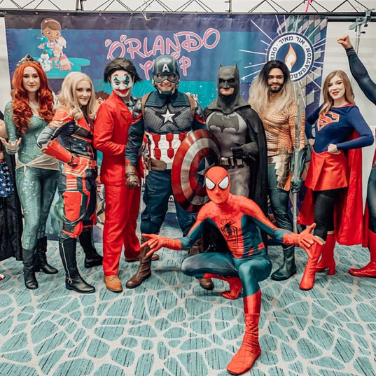 Orlando Superhero Parties - All Heroes