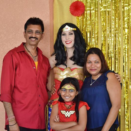 Orlando Superhero Parties - Wonder Woman Party