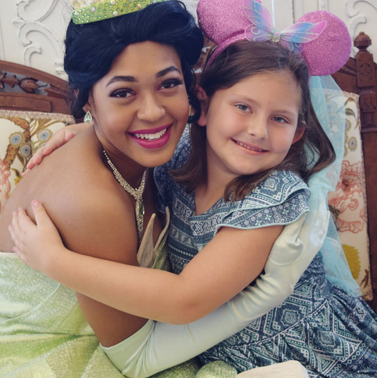 Orlando Princess Parties - Princess and the Frog Party