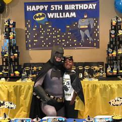 Orlando Superhero Parties - Batman Party