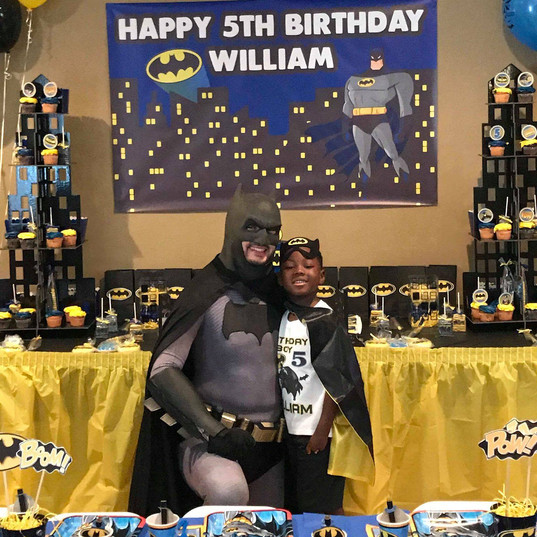 Orlando Superhero Parties - Batman Party