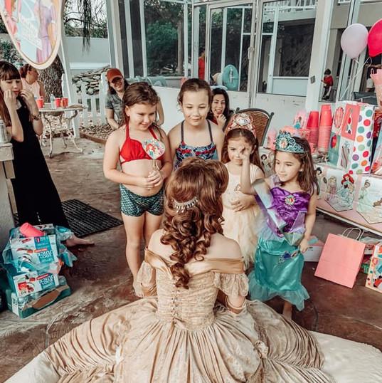 Orlando Princess Parties - Princess Belle Party
