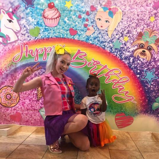 Orlando Party Characters - JoJo Siwa Party