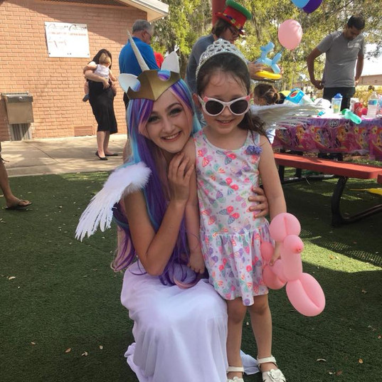 Orlando Party Characters - My Little Pony Party