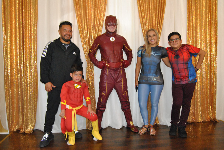 The Flash Superhero Birthday Party