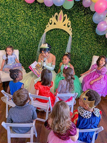 Princess Tiana Princess and the Frog Birthday Party