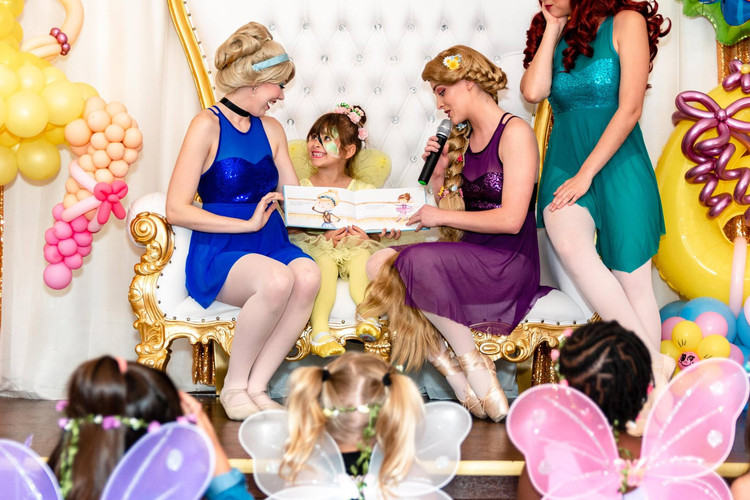 Princess Ballerina Birthday Party