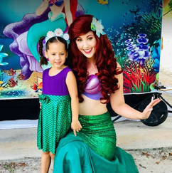 Orlando Princess Parties - The Little Mermaid Party