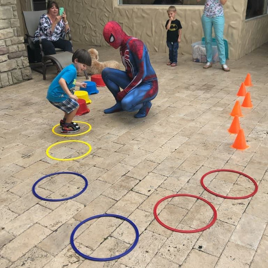 Orlando Superhero Parties - Spiderman Party