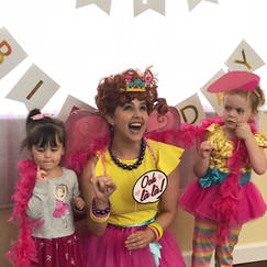 Orlando Party Characters - Fancy Nancy Party