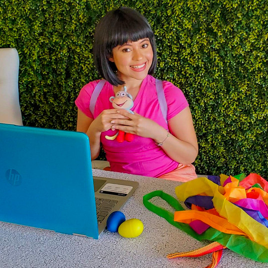 Virtual Chat - Dora the Explorer