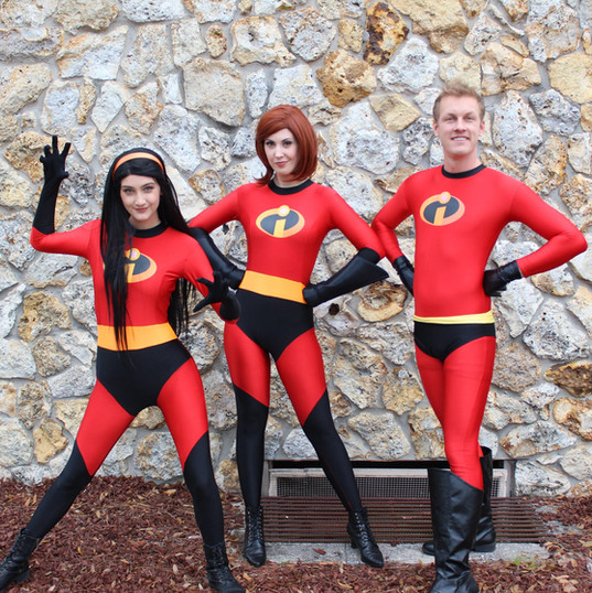 Orlando Superhero Parties - The Incredibles Party