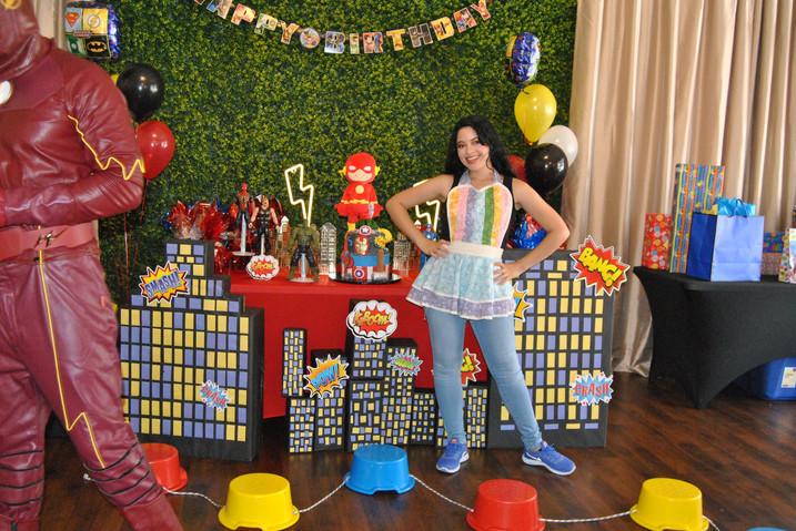 The Flash Superhero Birthday Party