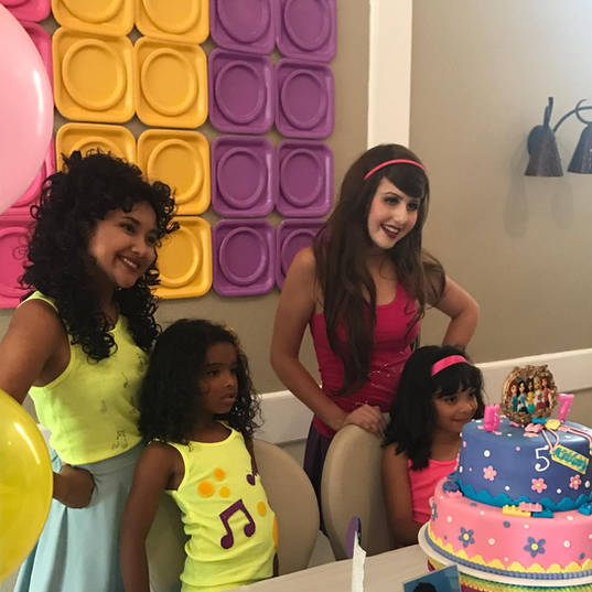 Orlando Party Characters - Lego Friends Party