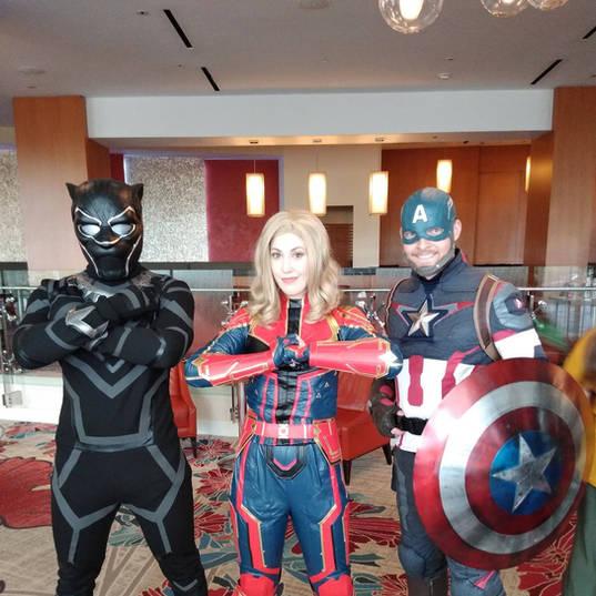 Orlando Superhero Parties - Avengers Party