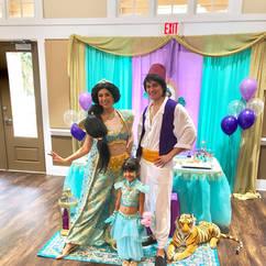 Orlando Princess Parties - Aladdin and Jasmine Party