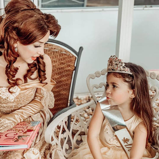 Orlando Princess Parties - Beauty and the Beast Party