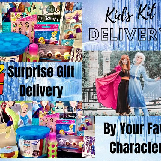 Kids Kit Delivery Service - Princesses