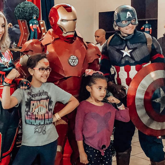 Orlando Superhero Parties - Avengers Party