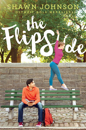 Cover art for YA novel, THE FLIP SIDE.