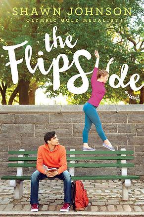 Cover art for YA novel, THE FLIP SIDE.
