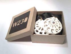 Shell earring packaging