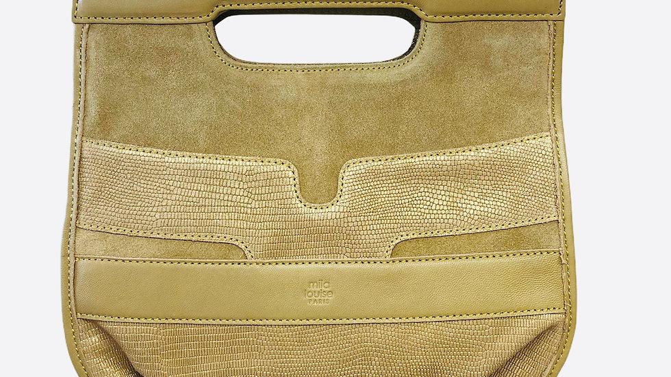 sac mila louise bandouliere croute de cuir Ref 381